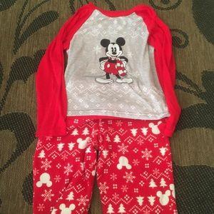 Boys Disney Christmas pjs